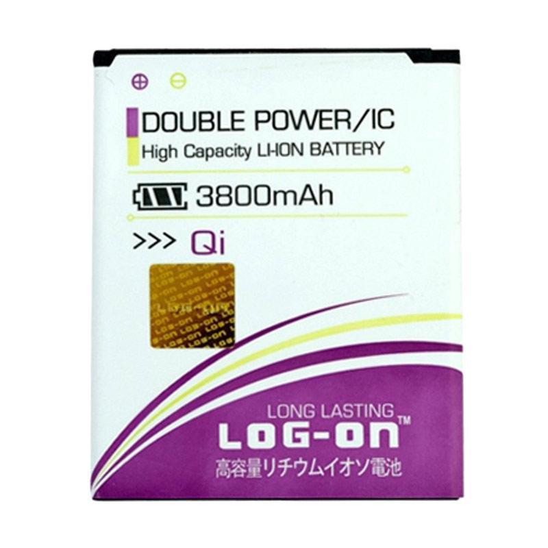 harga Log on Double Power Battery for Smartfren Andromax Qi / E2+ [3800 mAh] Blibli.com