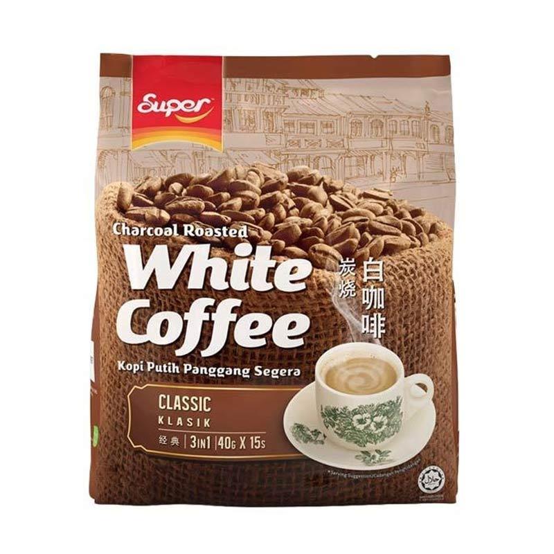 Super White Coffee Classic Kopi [600 g/15 Sachet]