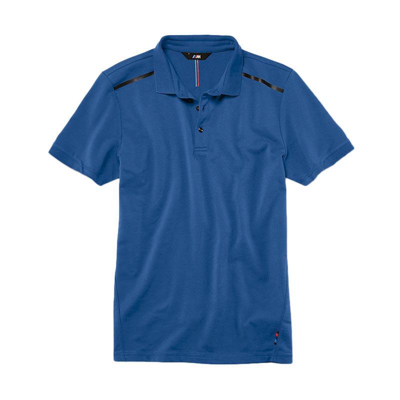 BMW M Series >> Jual Bmw M Series Men S Polo Shirt Pria Blue Terbaru