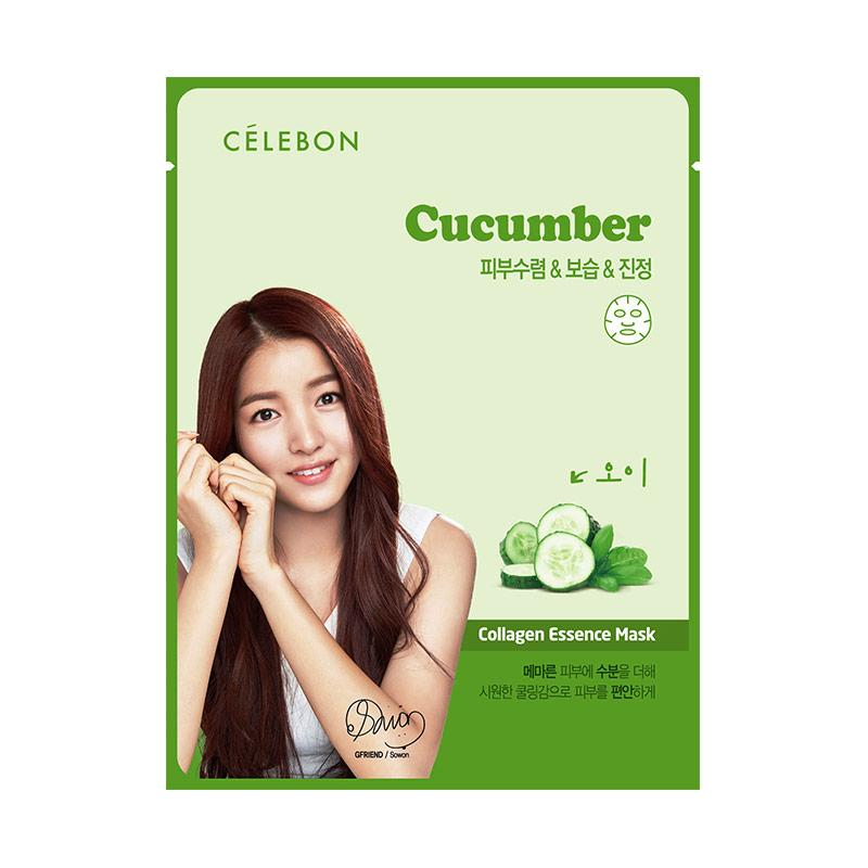 JBS Al Mabruroh Madu Penggemuk Badan Collagen Crystal Eye Mask Masker Mata 4 . Source · Celebon Cucumber Collagen Essence Masker Wajah
