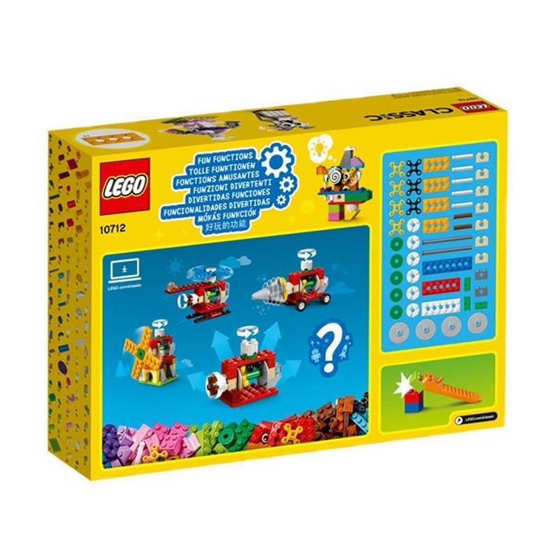 LEGO® Classic Bricks and Gears 10712 244 Pcs
