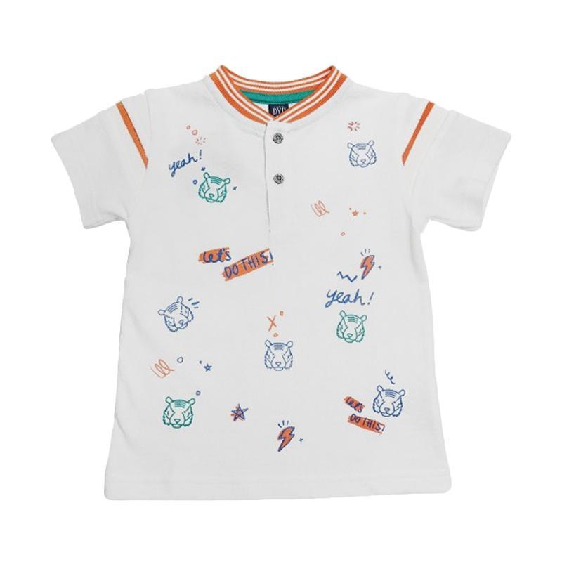 Kids Icon DY2K0200180 DYL White Polo Baju Anak Laki laki