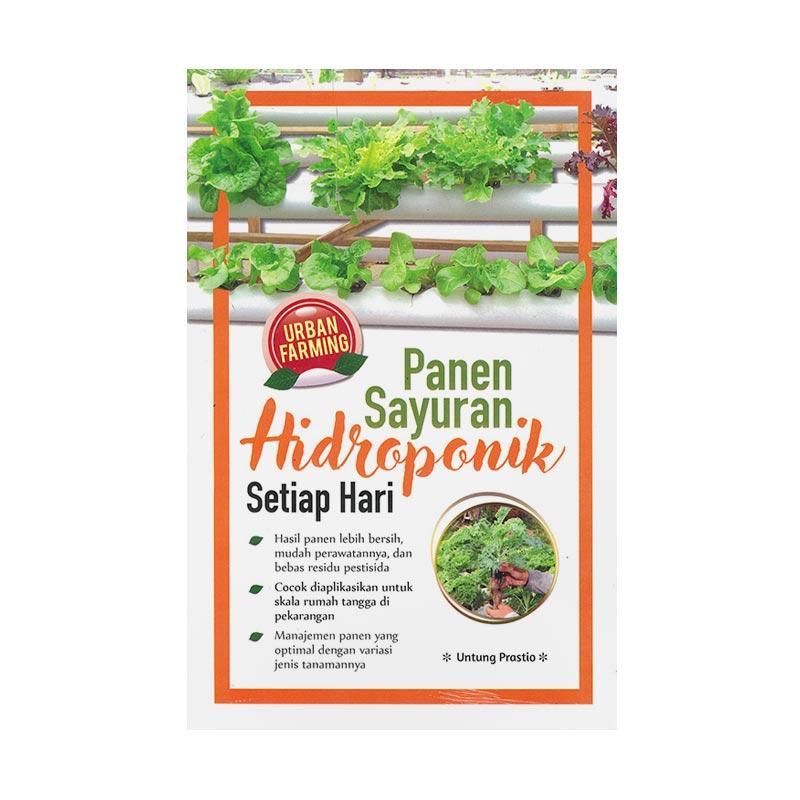 Agromedia Pustaka Panen Sayuran Hidroponik Setiap Hari Edisi Revisi By Untung Prastio Buku Agrikultur