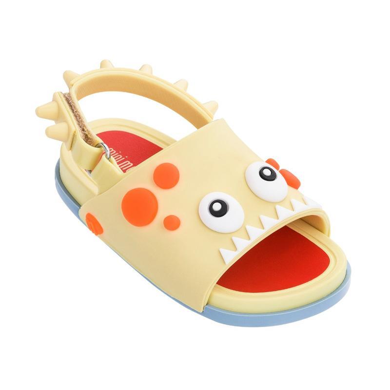 Mini Melissa Beach Slide Dino Bb Sepatu Anak Perempuan