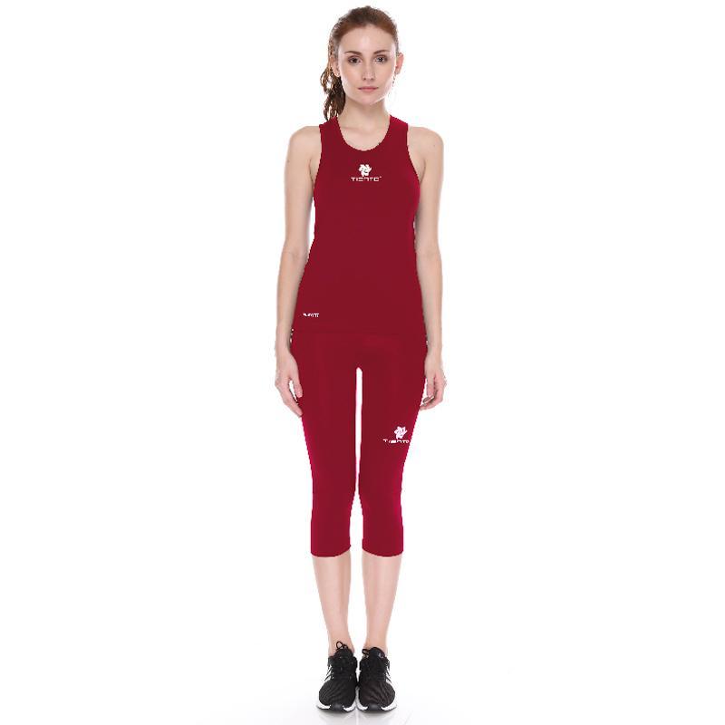 Jual Tiento Tank Top Singlet Sport Dan Celana Legging 3 4 Pants Setelan Olahraga Wanita Online Oktober 2020 Blibli Com