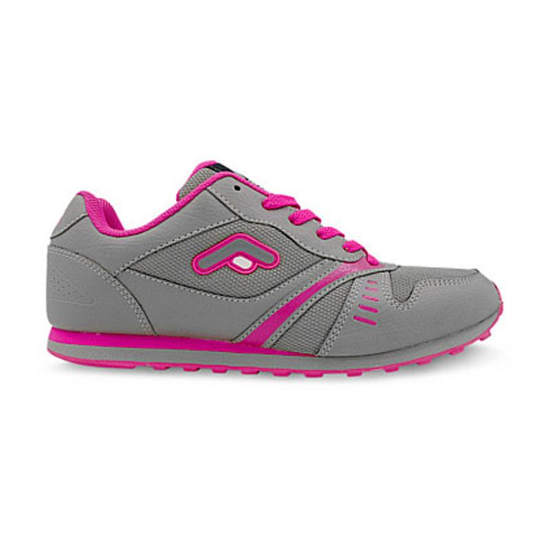 FANS Castelo MG Women Jogging Shoes Grey Pink