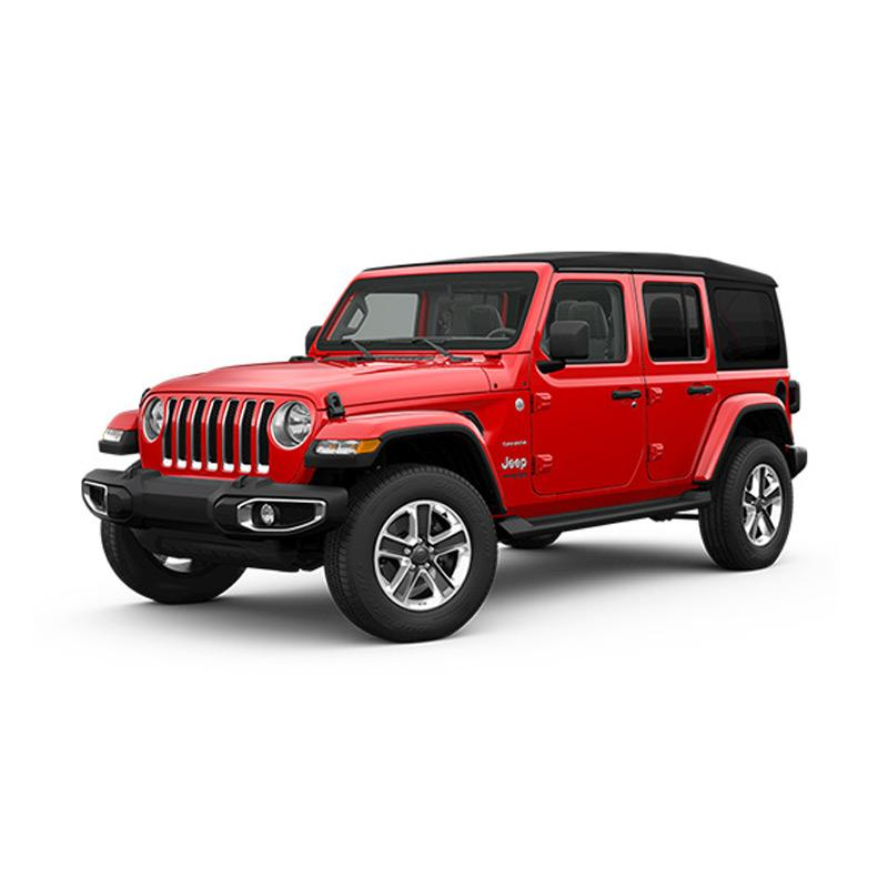 Jeep Wrangler Sahara 4-Door Mobil