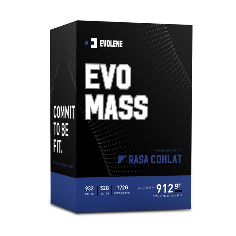 Evolene Evo Mass 2 Lbs Suplemen Kesehatan