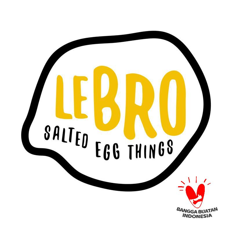 Jual Lebro Salted Egg Fish Skin Paket Snack [3 pcs/ 70 g/ Original