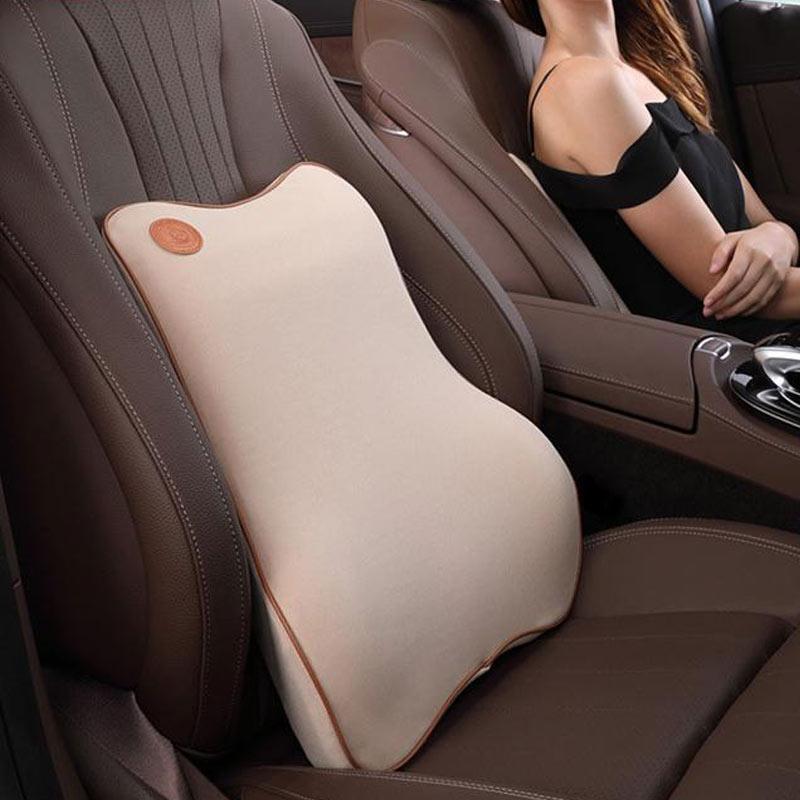 Best Car Seat Cushion >> Jual Best Car Seat Lumbar Pillow Fashion Space Memory Cotton