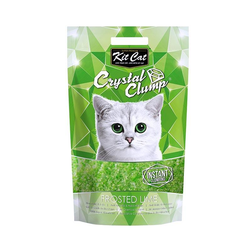 Kit Cat Crystal Clump Frosted Lime Cat Litter 4 L