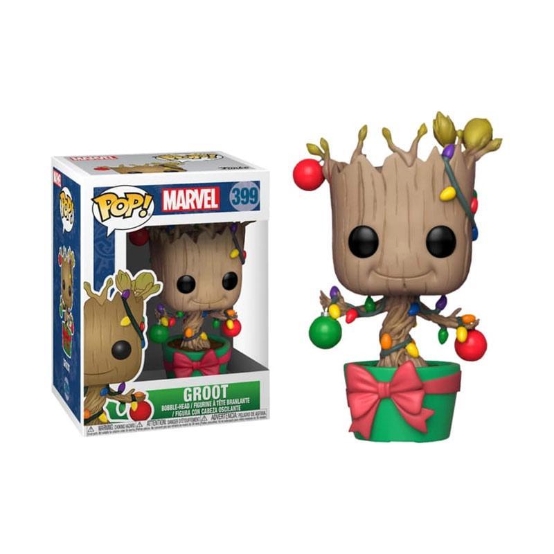 Vinyl Figure #531 Marvel Guardians of the Galaxy-Holiday Rocket POP