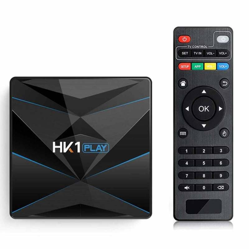 Android 9.0 H96 Max Plus 4GB+64GB Smart-TV-Box Quad-Core 4K WiFi H.265 USB 3.0