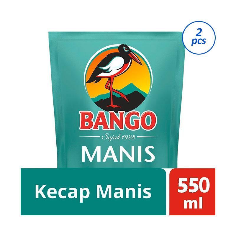 BANGO Kecap Manis 2 Pcs x 550 mL Kemasan Pouch