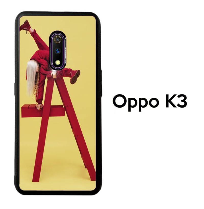 Jual Casing Custom Hardcase Oppo K3 Billie Eilish Logo X9173 Online Oktober 2020 Blibli Com