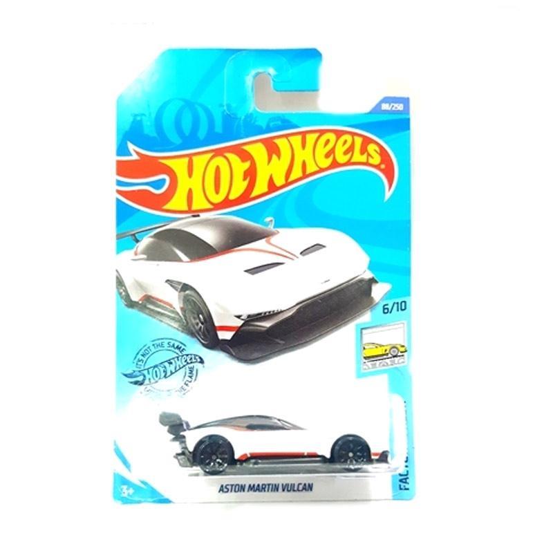 Jual Hot Wheels Hw 20 Aston Martin Vulcan Diecast White Online Desember 2020 Blibli