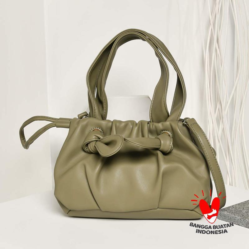 Ben Bella 1512 Drawstring Small Handbag Tas Wanita Green