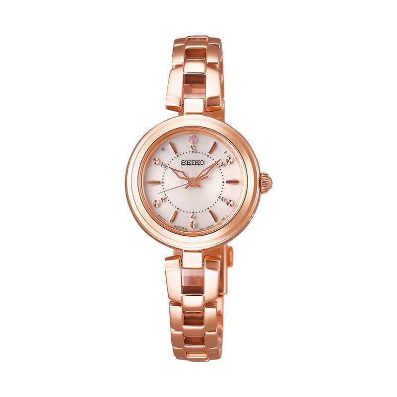 Seiko SWFH092 Selection Jam Tangan Wanita Light Rose Gold