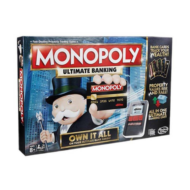 Hasbro Games GSSB6677 Monopoly Game Ultimate Banking Edition