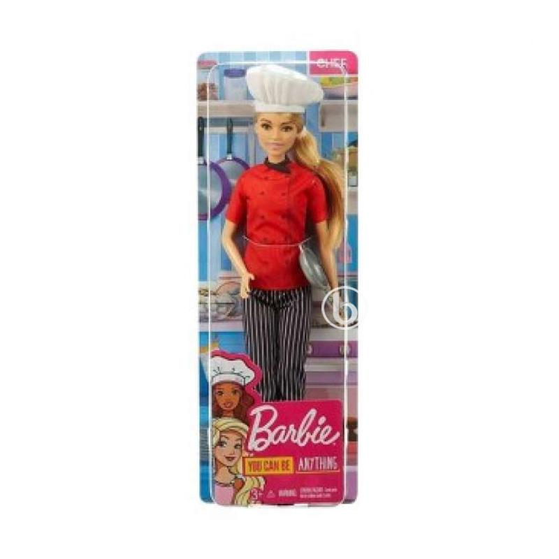 Jual Barbie Careers Doll Fxn95 Boneka Online November 2020 Blibli Com
