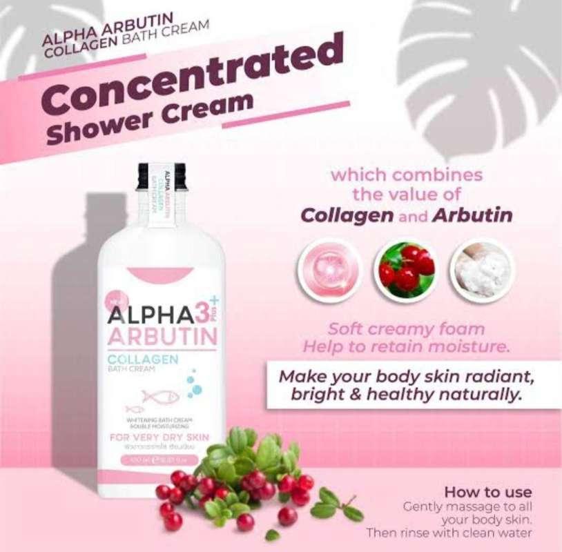 Jual Alpha Arbutin 3 Collagen Bath Cream Online April 2021 Blibli