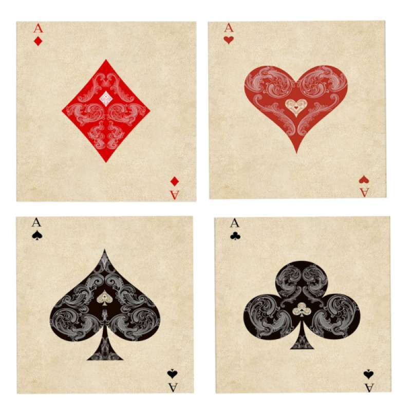 Jual 4 Sets 5d Diamond Painting Kits Poker Picture Diy Cross Stitch Mosaic Crafts Online Maret 2021 Blibli