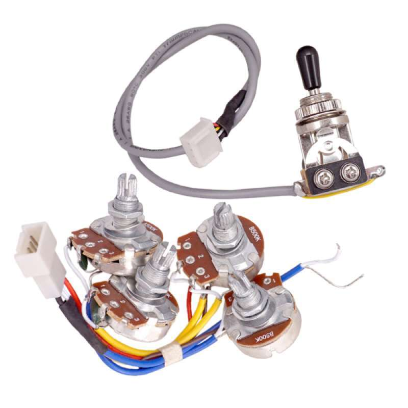 Jual Guitar Tone Volume Control Pots 3 Way Toggle Switch Circuit Wiring For Epi Online September 2020 Blibli Com