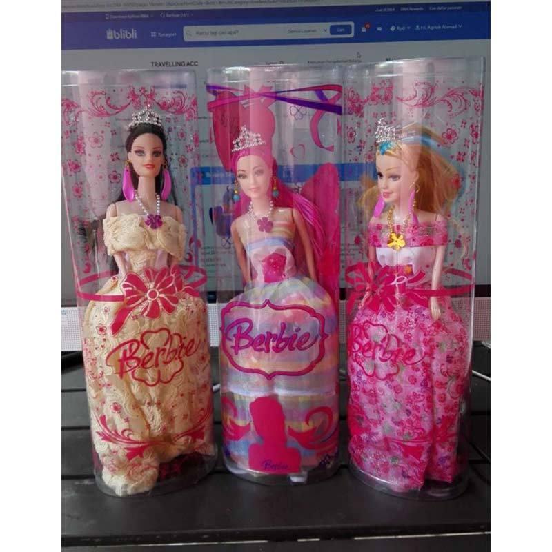 Jual Barbie Boneka Gaun Eropa Boneka Cantik Cute Online November 2020 Blibli Com