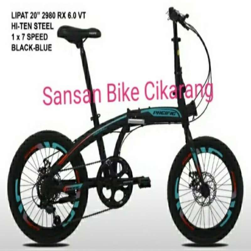 Jual Sepeda Lipat Pacific 2980 Ht Rx 6 0 Disc Vt Online Desember 2020 Blibli