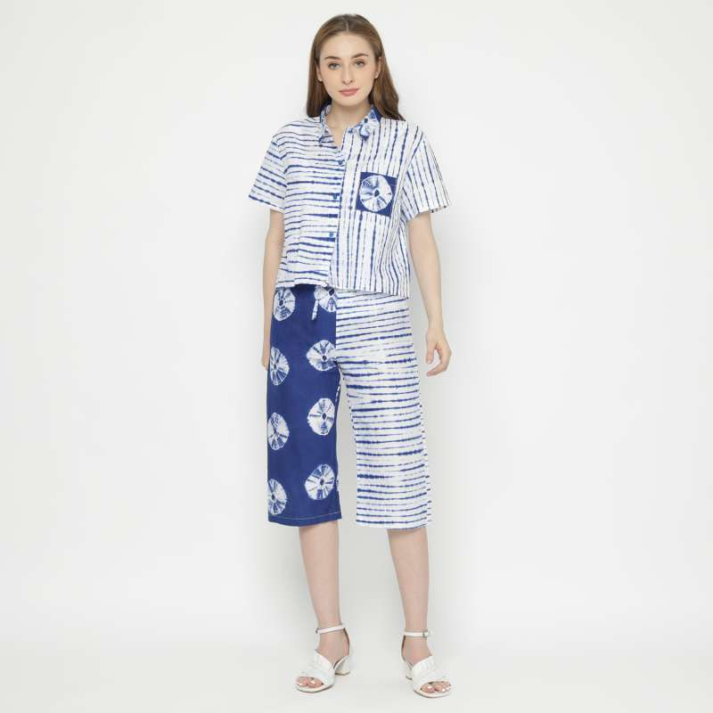 Setelan Tye Die Batik Set Istika