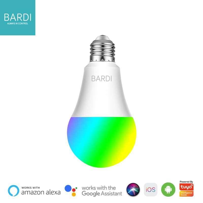 BARDI Smart LIGHT BULB RGB+WW 9W Wireless Wifi