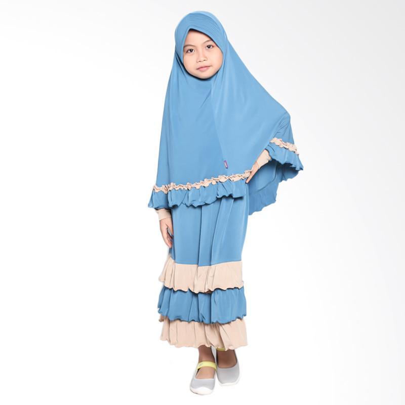 Allev Nadiya Prelude Baju Muslim Anak - Blue