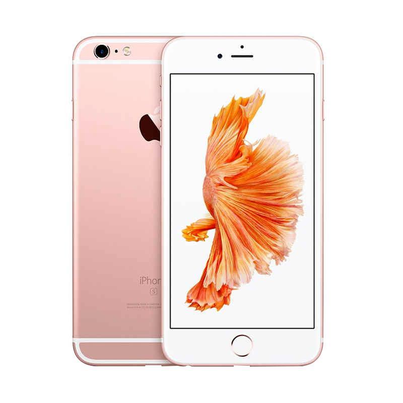 Diskon Apple iPhone 6S Plus 64GB Smartphone – Rose(Refurbish)