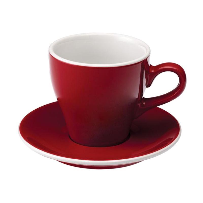 Loveramics Tulip Cafe Latte Cup Set - Red [280 mL]