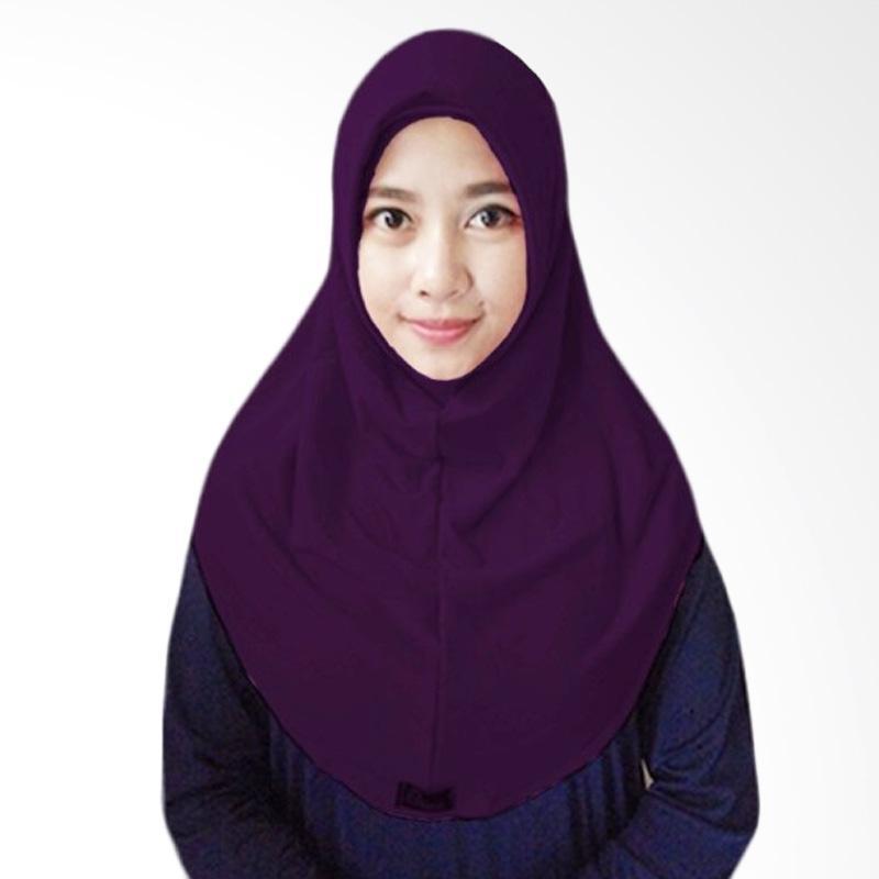 Milyarda Short syria Hijab - ungu