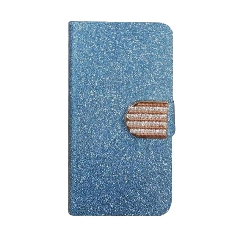 OEM Diamond Cover Casing for HTC Desire 516 - Biru