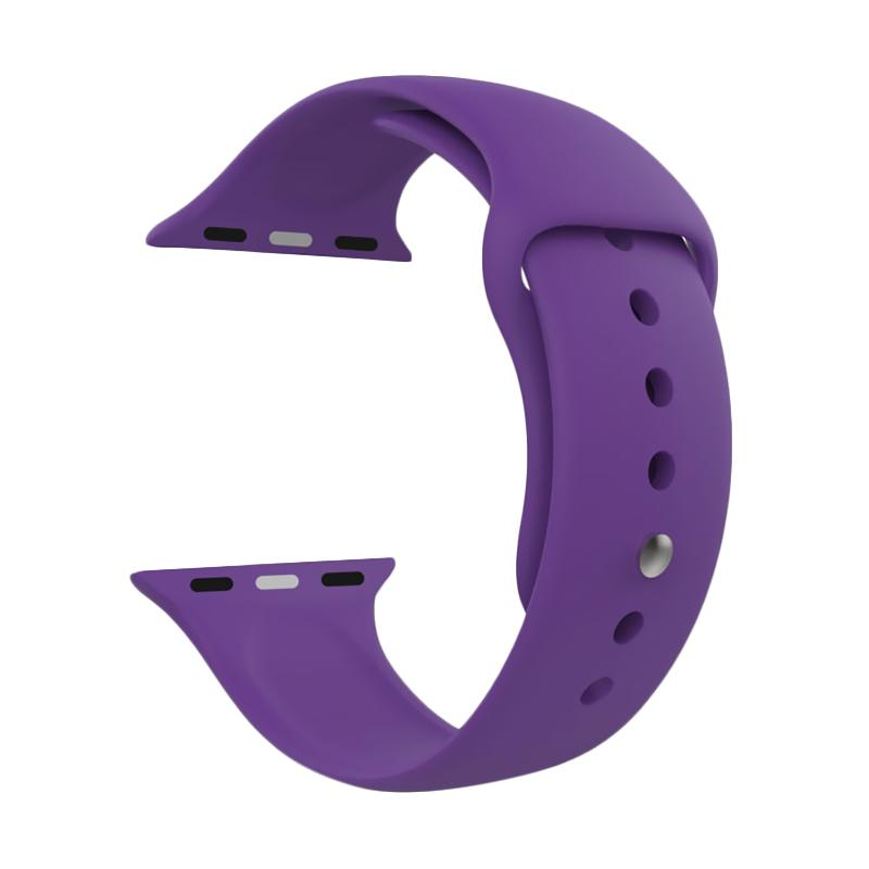 LOLLYPOP Strap Sports Band for Apple Watch 38mm - Purple
