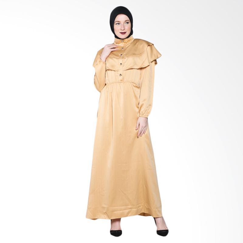 Rauza Rauza Medallion Dress - Gold