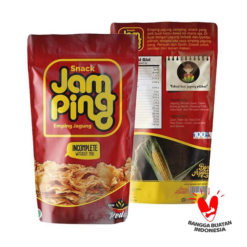 Snack Jamping Jagung Makanan Ringan