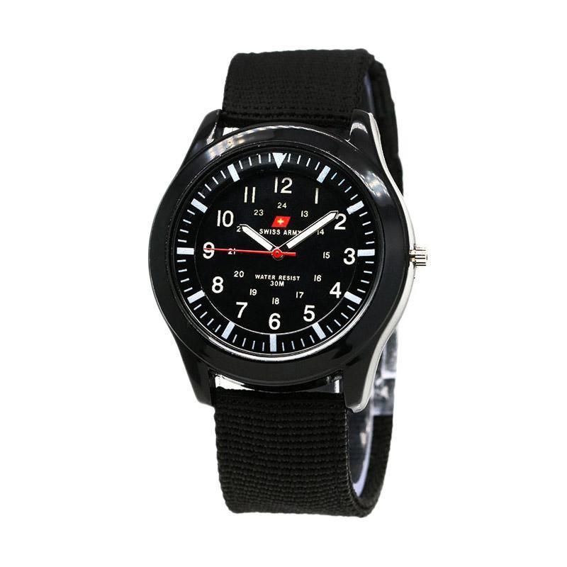 Swiss Army 0021 Jam Tangan Pria - Black