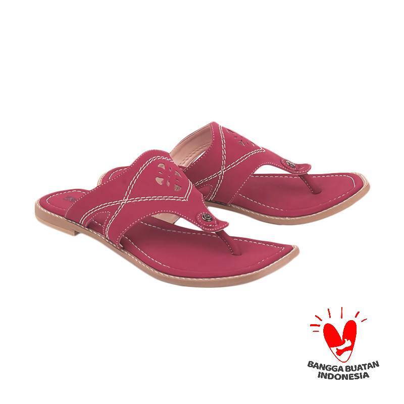 Blackkelly Marema LNW 610 Sandal Flats - Red