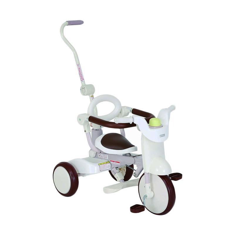 IIMO Tricycle Sepeda Lipat Roda Tiga - White