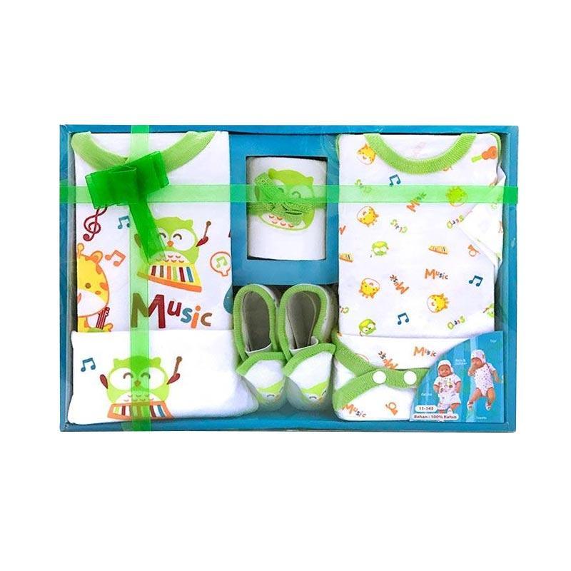 Chane7 Kiddy Baby KD11143 Gift Set Pakaian Baby - Hijau