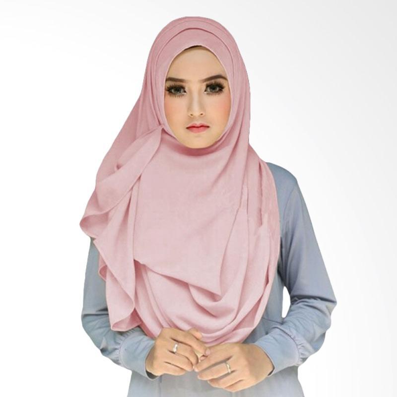 Milyarda Hijab Tazkia Kerudung Instan - Dusty Pink