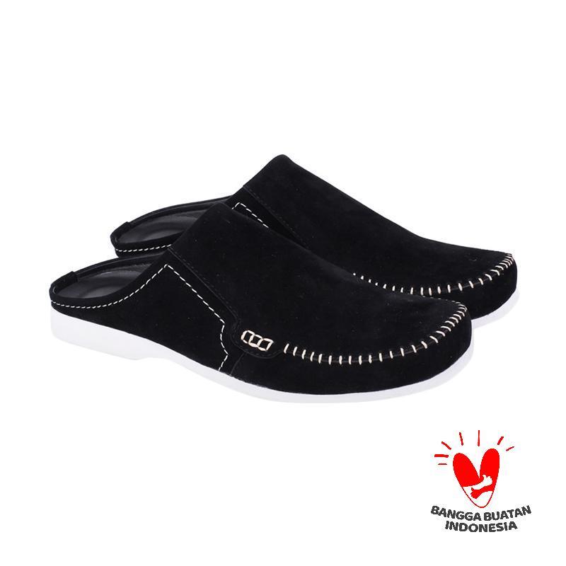 Raindoz Benson Ros 001 Sepatu Pria - Black