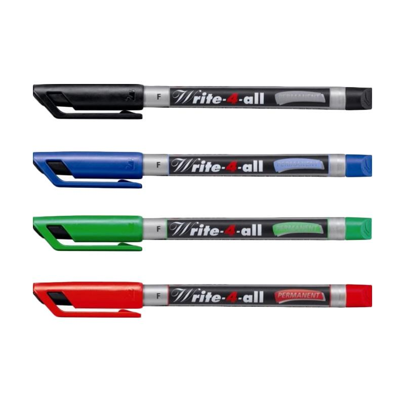 STABILO Write 4 All Fine Set Spidol [4 Pcs]