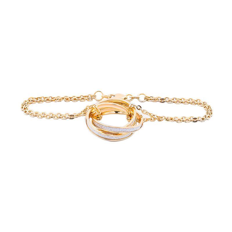 Gelang Emas Kadar 75 - Varrowsky Gold Bracelet-WHIZLIZ
