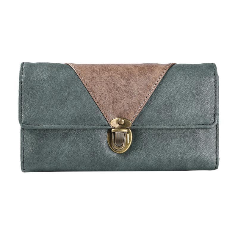 Alibi Bruniz Wallet W0288G2 Long Wallet - Green