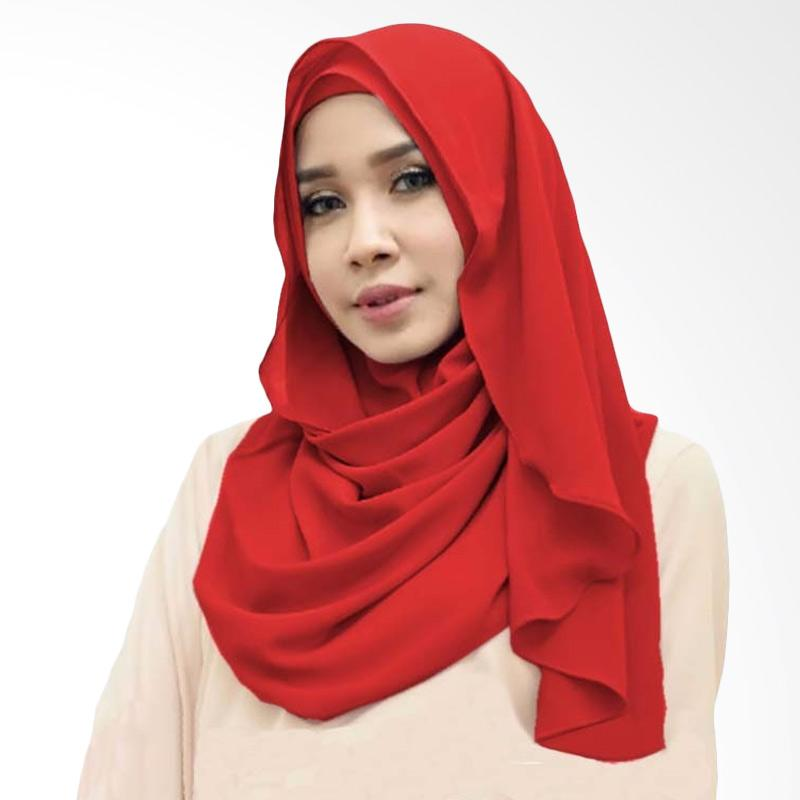 Kus Group Orchid Hijab Instant - Red