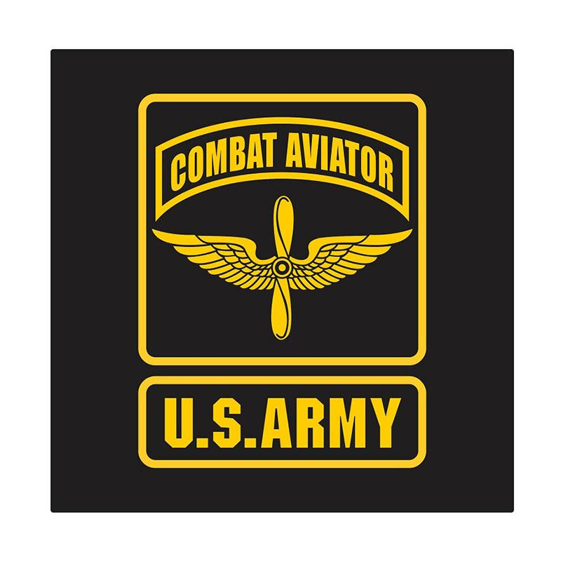 US Army Combat Aviator Cutting Sticker